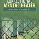 Ebook 978-1412972567 Correctional Mental Health: From Theory to Best Practice