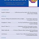 Ebook Pro Ecclesia Vol 21-N3: A Journal of Catholic and Evangelical Theology