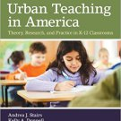Ebook 978-1412980609 Urban Teaching in America: Theory, Research, and Practice in K-12 Classrooms