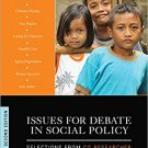 Ebook 978-1483365978 Issues for Debate in Social Policy: Selections From CQ Researcher
