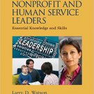 Ebook 978-1452291529 Developing Nonprofit and Human Service Leaders: Essential Knowledge and Skil