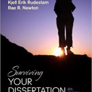 Ebook 978-1452260976 Surviving Your Dissertation: A Comprehensive Guide to Content and Process
