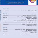 Ebook Pro Ecclesia Vol 25-N4: A Journal of Catholic and Evangelical Theology