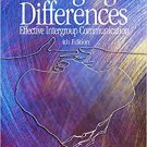 Ebook 978-0761929369 Bridging Differences: Effective Intergroup Communication (Interpersonal Comm