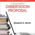 Ebook 978-1452257884 How to Design, Write, and Present a Successful Dissertation Proposal