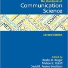 Ebook 978-1412918138 The Handbook of Communication Science