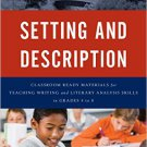 Ebook 978-1475818420 Setting and Description: Classroom Ready Materials for Teaching Writing and