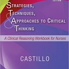 Ebook 978-0323446754 Strategies, Techniques, & Approaches to Critical Thinking: A Clinical Reason