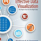 Ebook 978-1506303055 Effective Data Visualization: The Right Chart for the Right Data