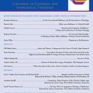 Ebook Pro Ecclesia Vol 24-N4: A Journal of Catholic and Evangelical Theology