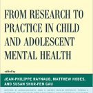 Ebook 978-1442231719 From Research to Practice in Child and Adolescent Mental Health (IACAPAP)