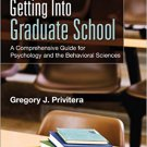 Ebook 978-1483356723 Getting Into Graduate School: A Comprehensive Guide for Psychology and the B
