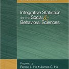 Ebook 978-1452205250 Study Guide to Accompany Integrative Statistics for the Social and Behaviora