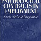 Ebook 978-0761916819 Psychological Contracts in Employment: Cross-National Perspectives