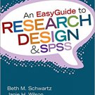 Ebook 978-1452288826 An EasyGuide to Research Design & SPSS (EasyGuide Series)