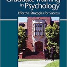 Ebook 978-1412994934 Your Graduate Training in Psychology: Effective Strategies for Success