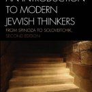 Ebook 978-0742546066 An Introduction to Modern Jewish Thinkers: From Spinoza to Soloveitchik