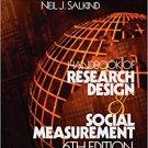 Ebook 978-0761920458 Handbook of Research Design and Social Measurement