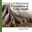 Ebook 978-1412957045 Social and Behavioral Foundations of Public Health