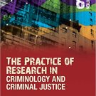 Ebook 978-1506306810 The Practice of Research in Criminology and Criminal Justice