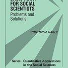 Ebook 978-0803972858 Basic Math for Social Scientists: Problems and Solutions (Quantitative Appli