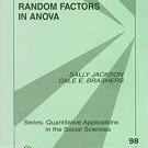 Ebook 978-0803950900 Random Factors in ANOVA (Quantitative Applications in the Social Sciences)