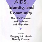 Ebook 978-0803953611 AIDS, Identity, and Community: The HIV Epidemic and Lesbians and Gay Men (Ps