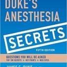 Ebook 978-0323249775 Duke's Anesthesia Secrets