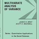 Ebook 978-0803923102 Multivariate Analysis of Variance (Quantitative Applications in the Social S