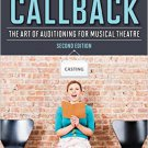Ebook 978-1442266605 Get the Callback: The Art of Auditioning for Musical Theatre