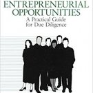 Ebook 978-0803959422 Investigating Entrepreneurial Opportunities: A Practical Guide for Due Dilig