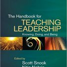 Ebook 978-1412990943 The Handbook for Teaching Leadership: Knowing, Doing, and Being
