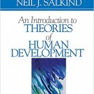 Ebook 978-0761926399 An Introduction to Theories of Human Development