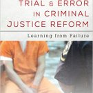 Ebook 978-1442268463 Trial and Error in Criminal Justice Reform: Learning from Failure (Urban Ins