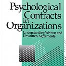 Ebook 978-0803971059 Psychological Contracts in Organizations: Understanding Written and Unwritte