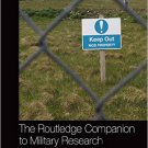 Ebook 978-1472442758 The Routledge Companion to Military Research Methods (Routledge Handbooks)