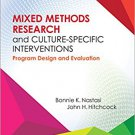 Ebook 978-1483333823 Mixed Methods Research and Culture-Specific Interventions: Program Design an