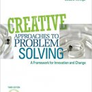Ebook 978-1412977739 Creative Approaches to Problem Solving: A Framework for Innovation and Chang