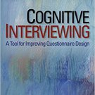 Ebook 978-0761928034 Cognitive Interviewing: A Tool for Improving Questionnaire Design