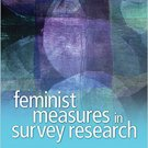 Ebook 978-1412988353 Feminist Measures in Survey Research