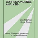 Ebook 978-1412968973 Multiple Correspondence Analysis: 163 (Quantitative Applications in the Soci