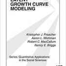 Ebook 978-1412939553 Latent Growth Curve Modeling: 157 (Quantitative Applications in the Social S