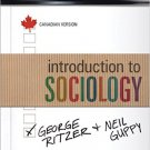 Ebook 978-1452282077 Introduction to Sociology: Canadian Version
