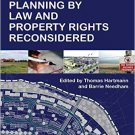Ebook 978-1409437215 Planning By Law and Property Rights Reconsidered
