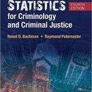 Ebook 978-1506326108 Statistics for Criminology and Criminal Justice