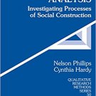 Ebook 978-0761923619 Discourse Analysis: Investigating Processes of Social Construction (Qualitat