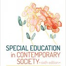 Ebook 978-1506310701 Special Education in Contemporary Society: An Introduction to Exceptionality