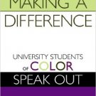 Ebook 978-0742500792 Making a Difference: University Students of Color Speak Out