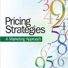 Ebook 978-1412964746 Pricing Strategies: A Marketing Approach
