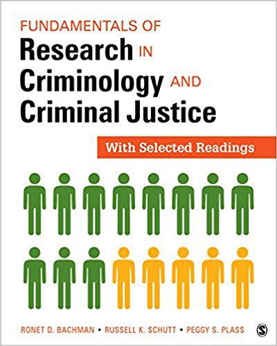 Ebook 978-1506323671 Fundamentals of Research in Criminology and Criminal Justice: With Selected